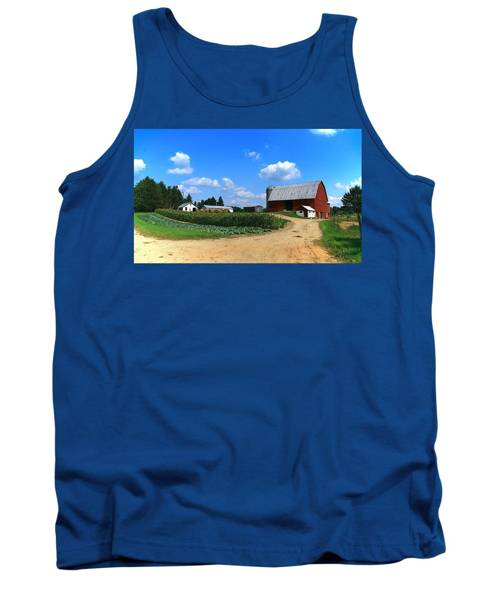 Farm Tank Top featuring the photograph Americas Bread And Butter-2 by Robert Pearson