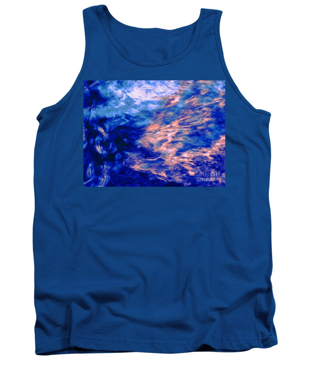 Abstract Tank Top featuring the photograph Answered Prayers by Sybil Staples