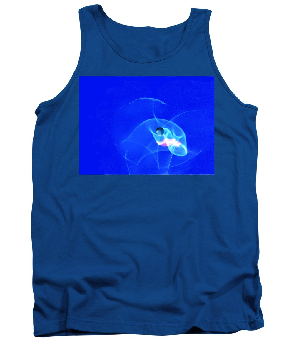 Abstract Tank Top featuring the photograph Apparition pearl by Steve Karol