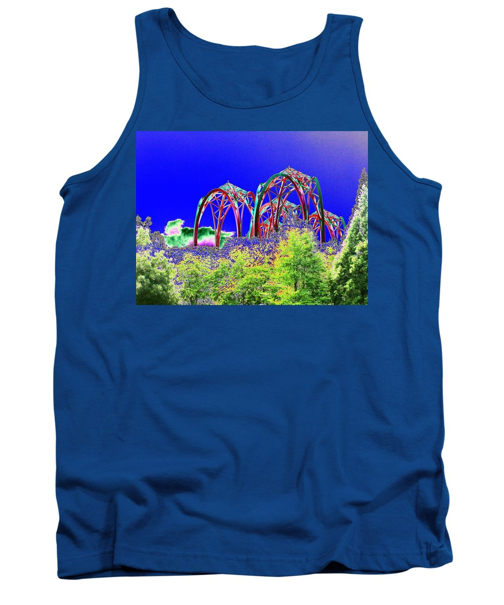 Seattle Tank Top featuring the photograph Arches 6 by Tim Allen