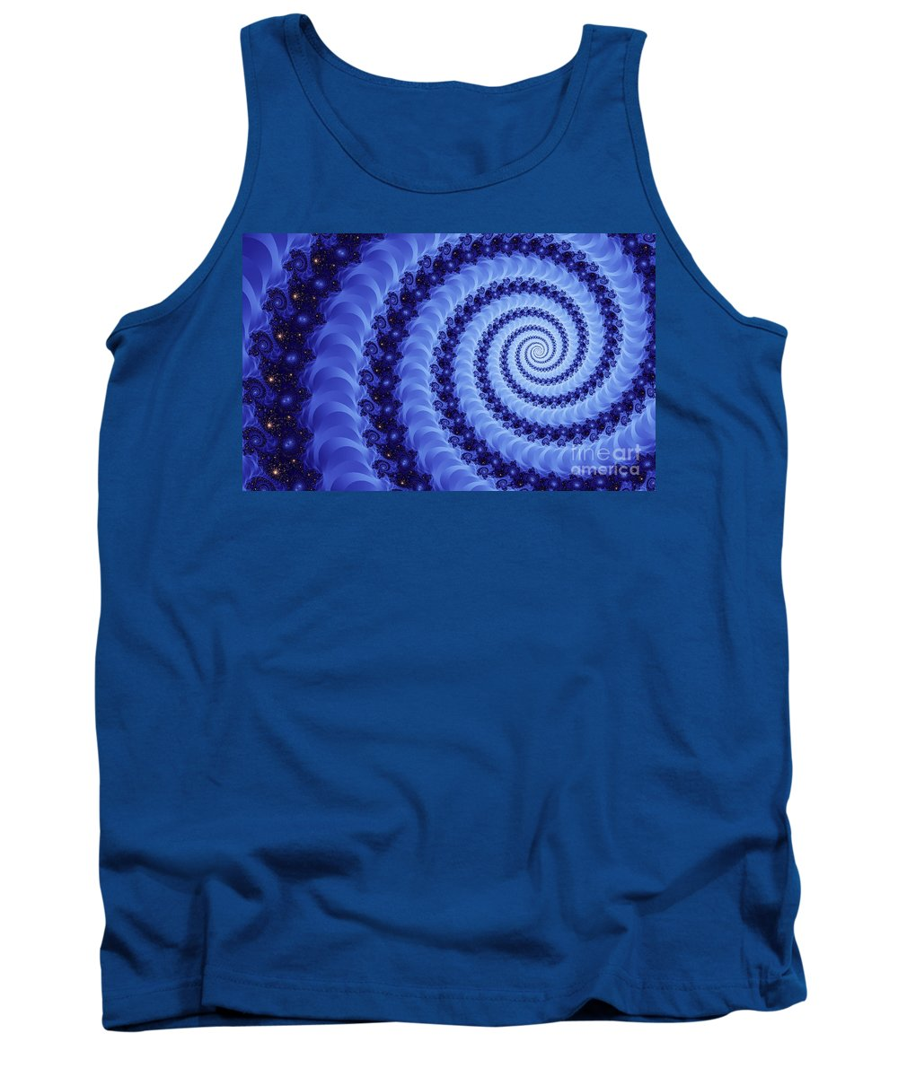 Clay Tank Top featuring the digital art Astral Vortex by Clayton Bruster