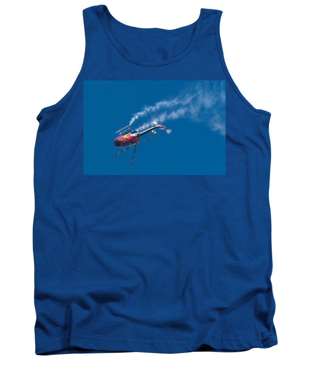 Red Bull Tank Top featuring the photograph Backflip by Sebastian Musial