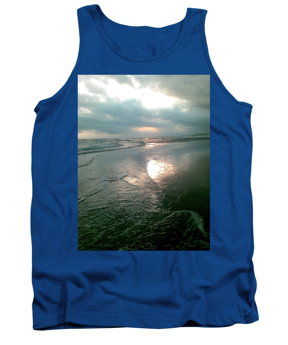 Bali Tank Top featuring the photograph Bali Dusk by Mark Sellers