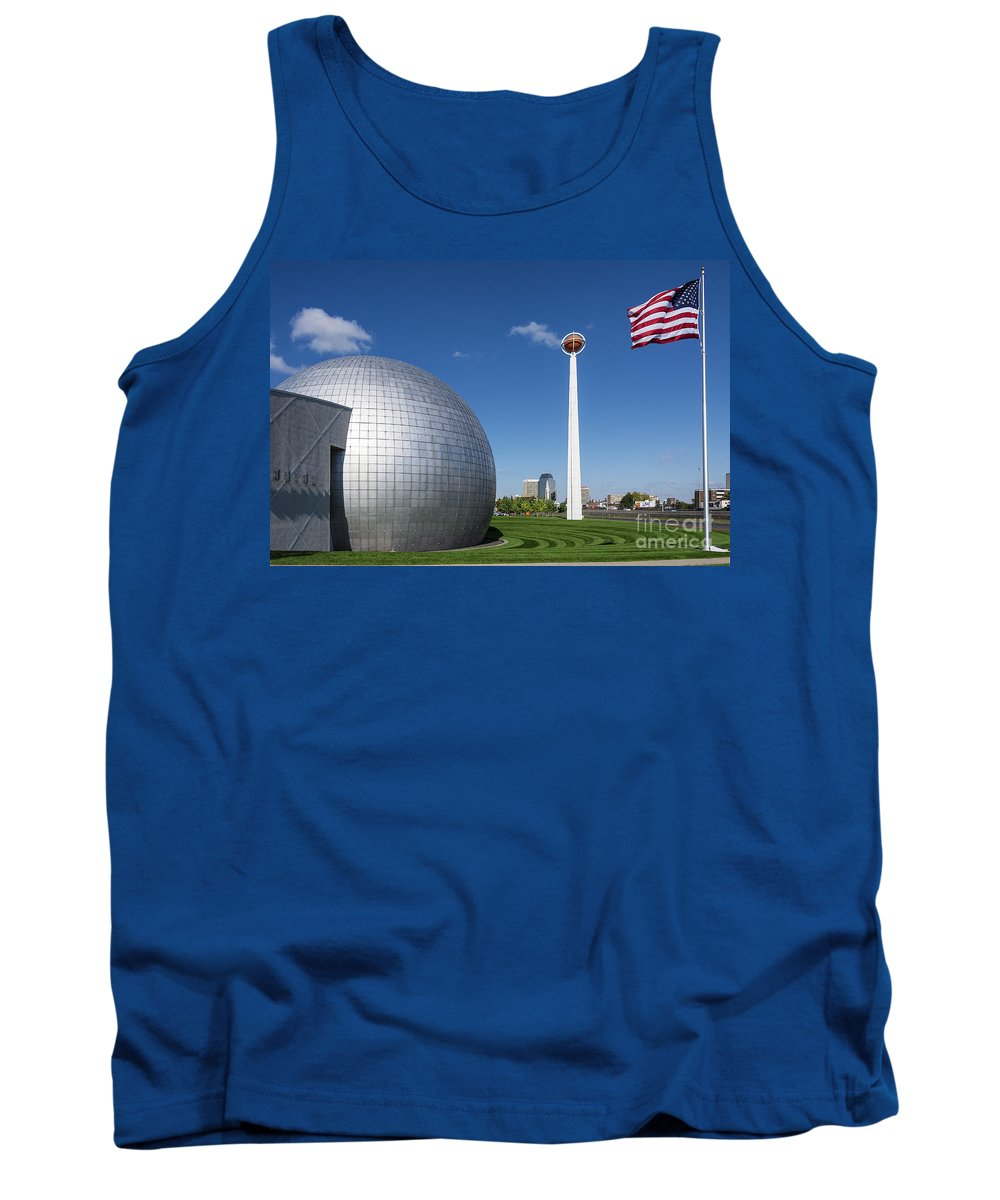 Basketball Hall Of Fame Tank Top featuring the photograph Basketball Hall Of Fame by John Greim