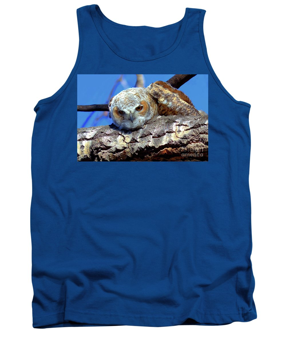 Owlet Tank Top featuring the photograph Be The Tiger by James Anderson