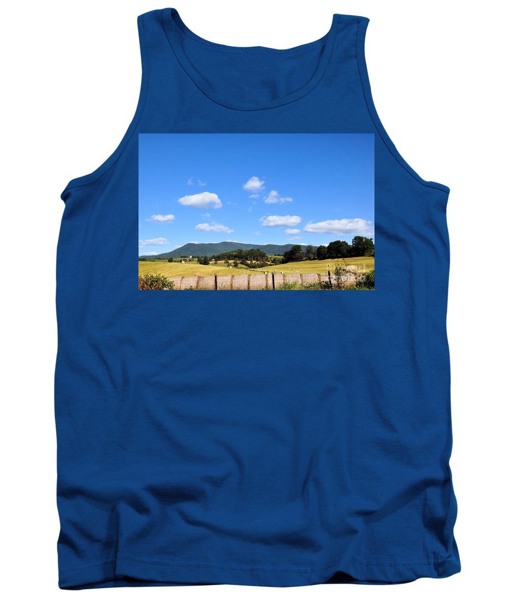 Mountains Tank Top featuring the photograph Blue Skies by Todd Hostetter