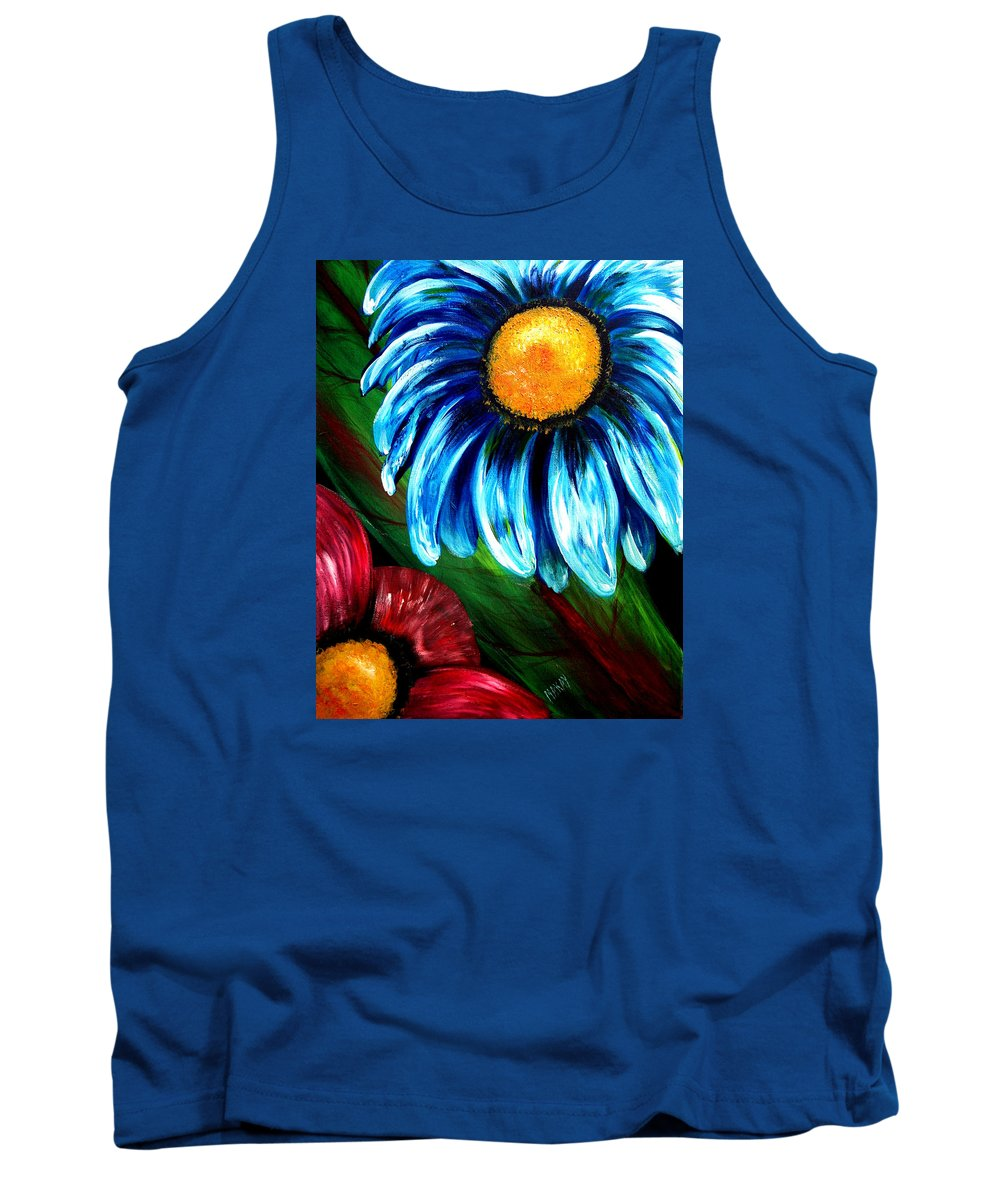 Bold Tank Top featuring the painting Bold Beauty by Maxie Makay