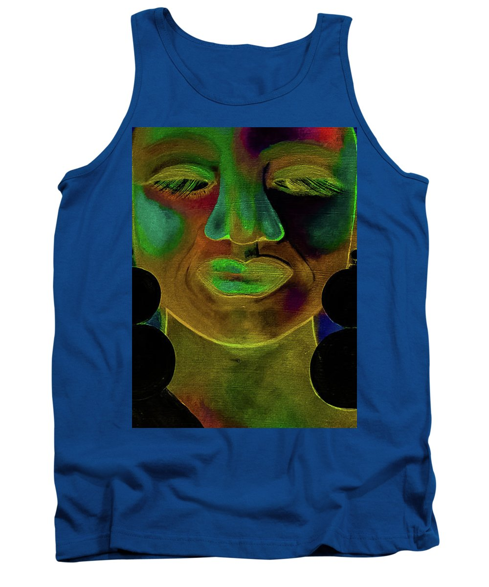 Woman Tank Top featuring the digital art Boldly Me #1 by Carrine Lovelace