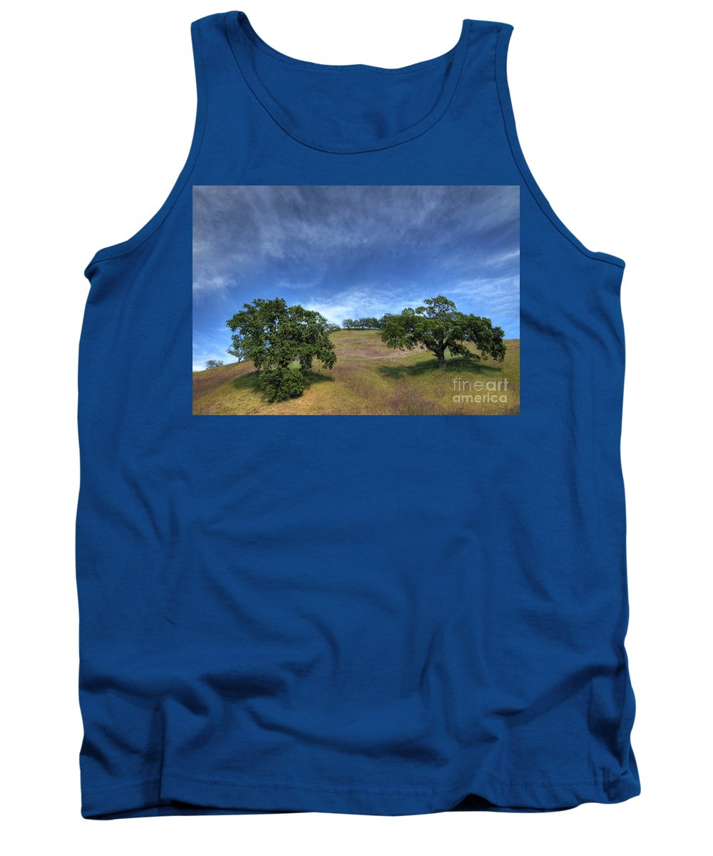 California Scenes Tank Top featuring the photograph Broccoli Trees by Norman Andrus