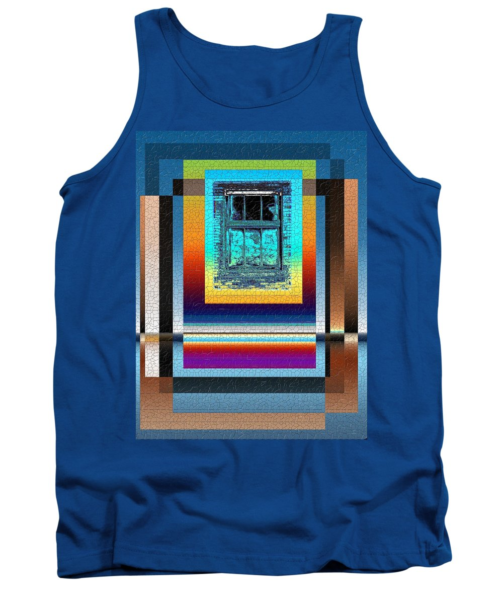 Digital Art Tank Top featuring the digital art Broken Dreams 3 by Tim Allen