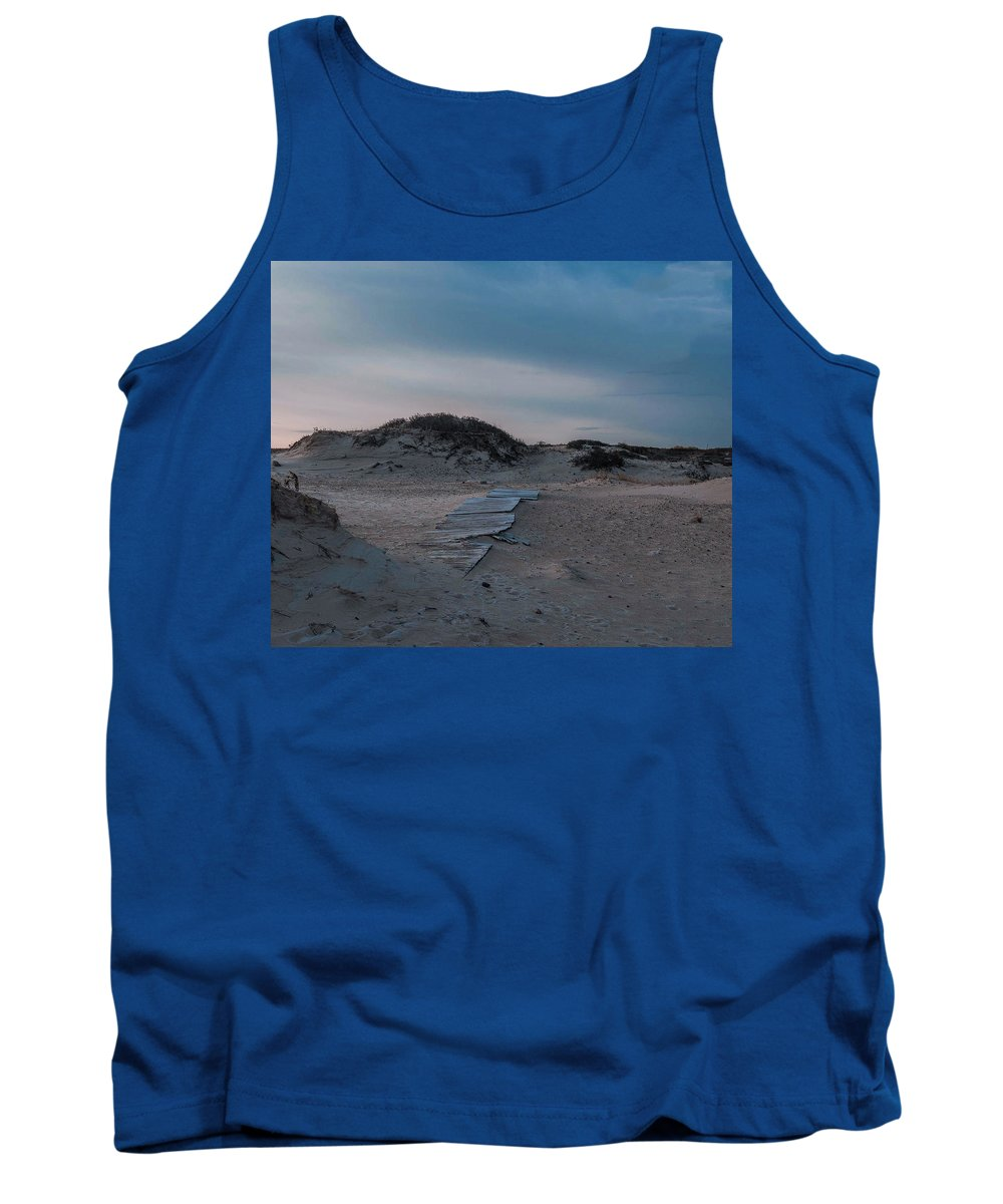 Beach Tank Top featuring the photograph Broken Path by Mark Majndle