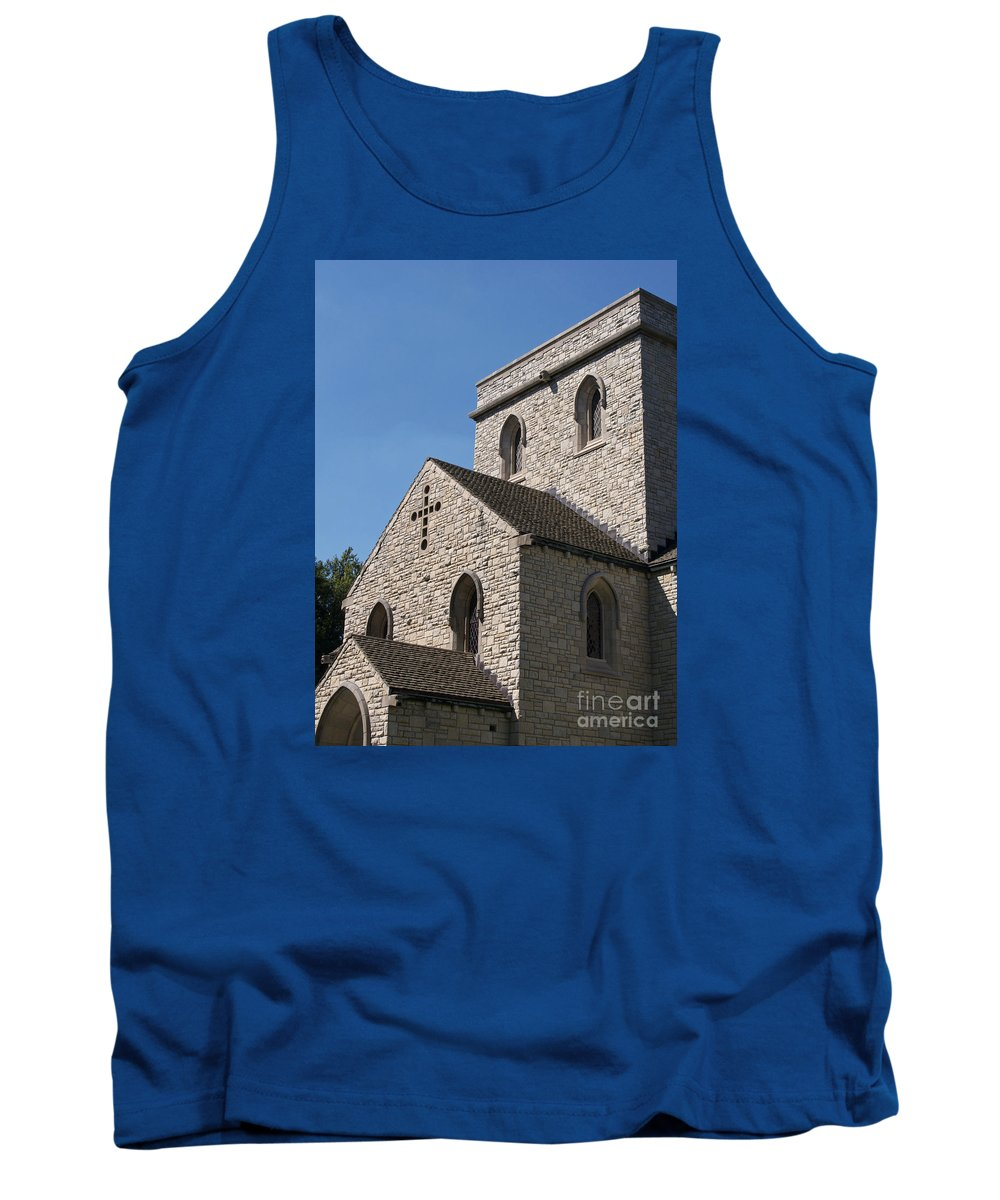 Chapel Tank Top featuring the photograph Chapel by Ann Horn
