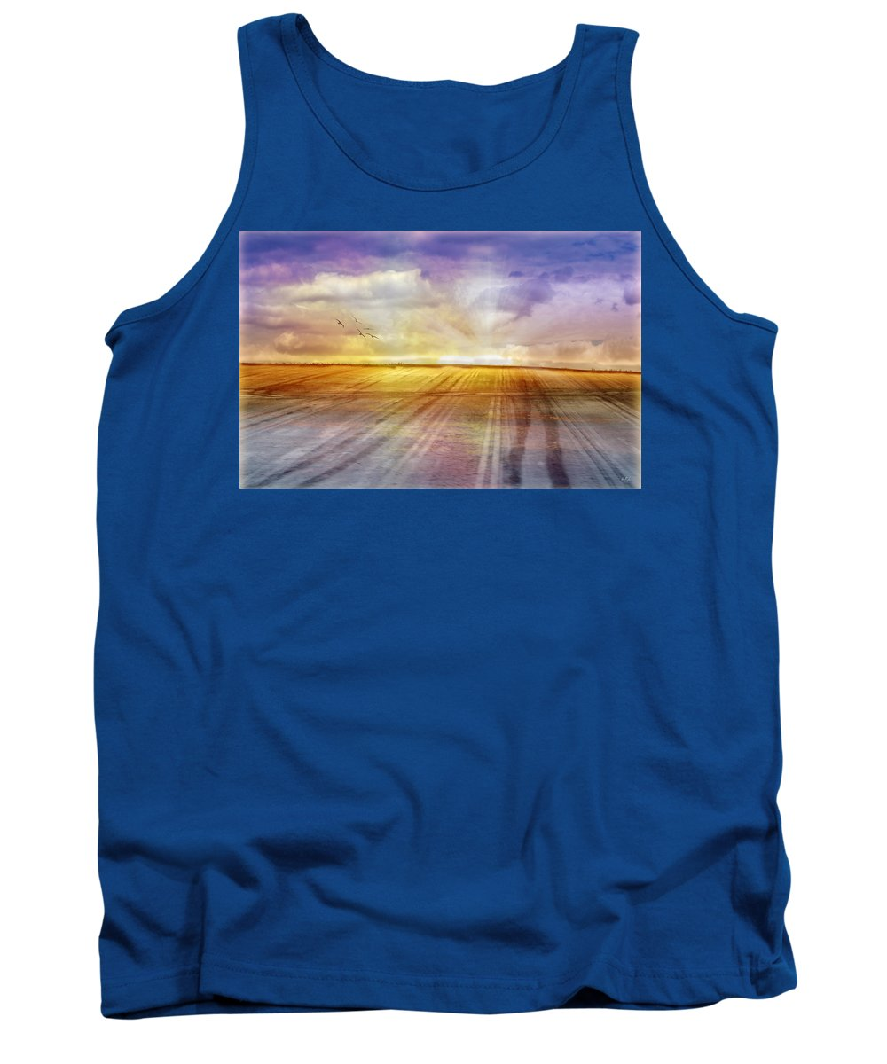 Landscapes Tank Top featuring the photograph Choices by Holly Kempe