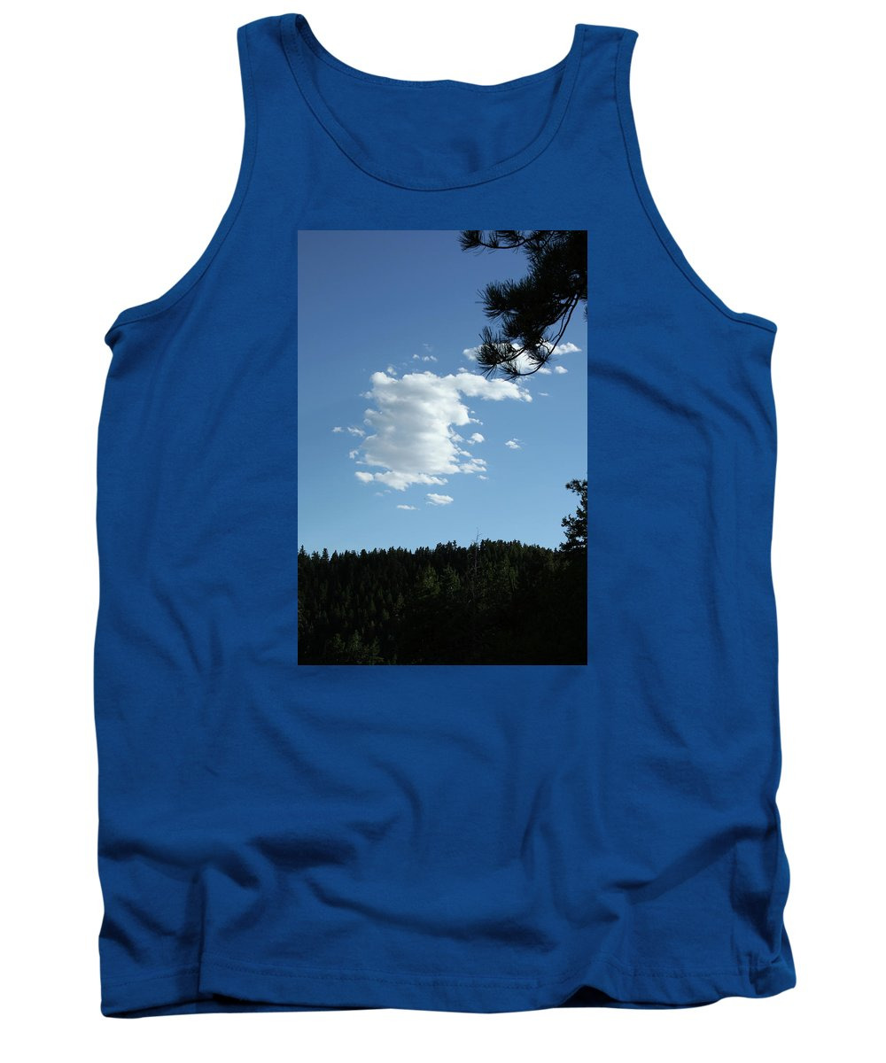 Cloud Tank Top featuring the photograph Cloud Busting by Ric Bascobert