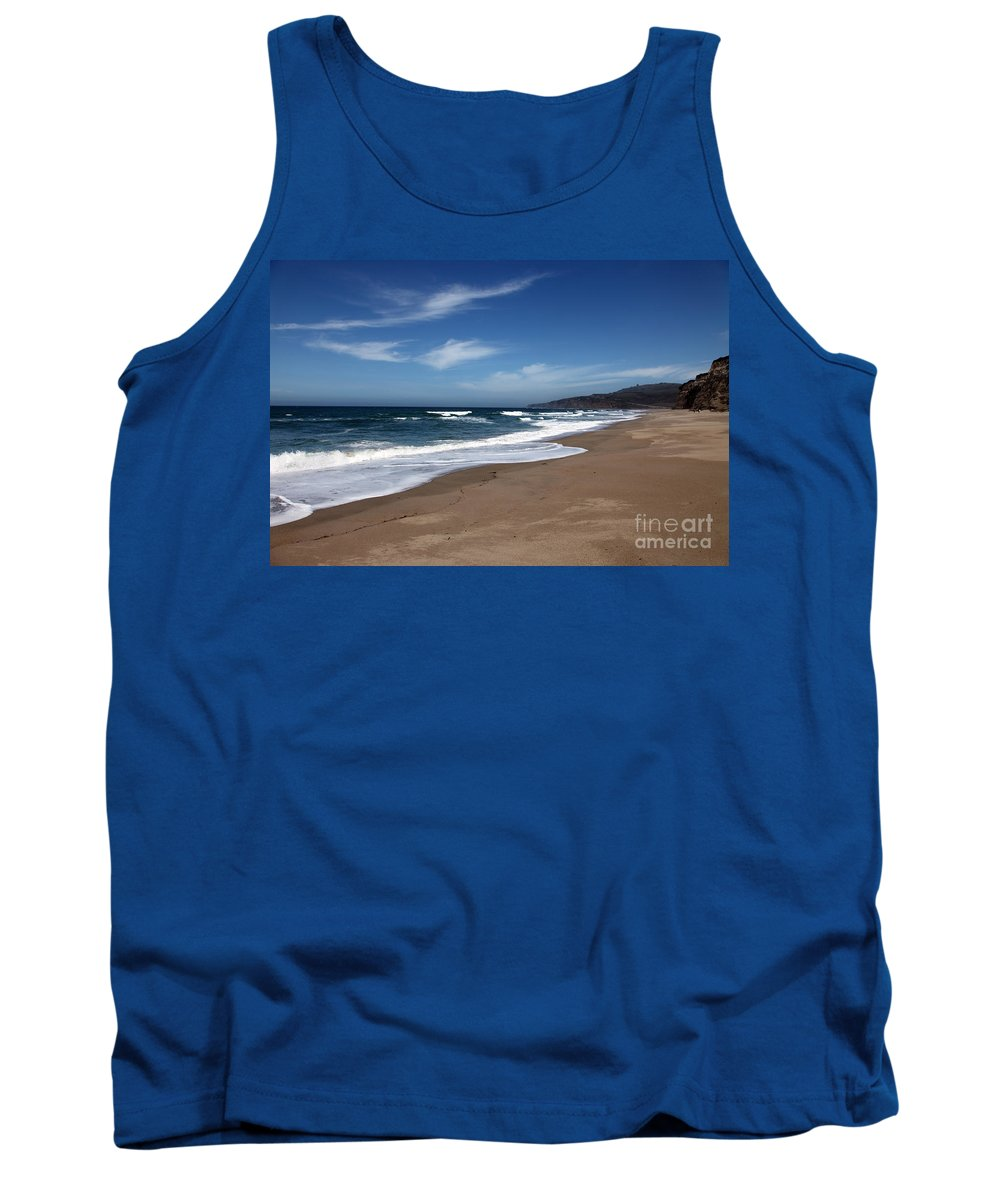 images Of California Tank Top featuring the photograph Coast Line by Amanda Barcon