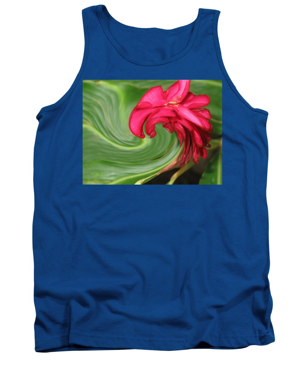 Flower Tank Top featuring the photograph Come To Me by Ian MacDonald