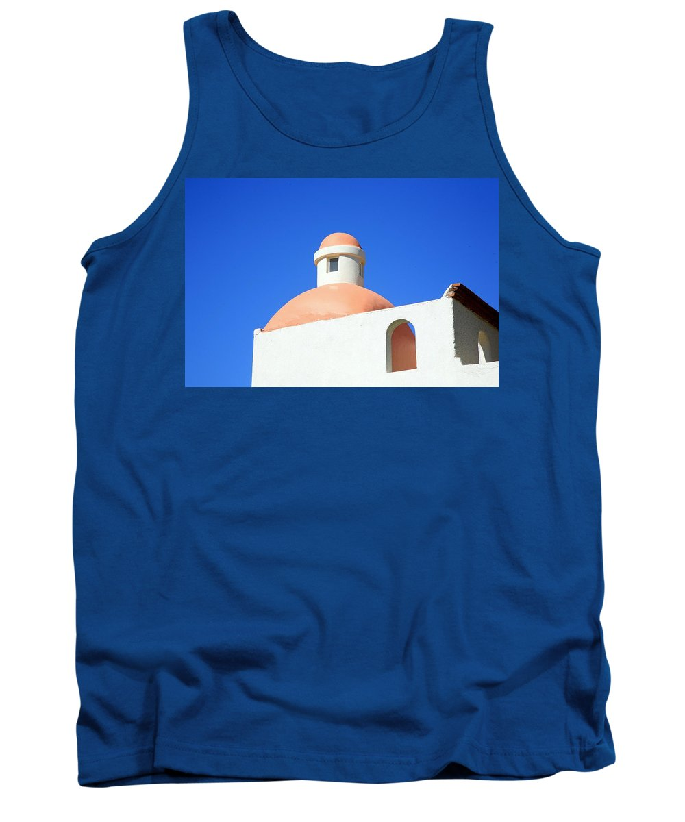 Building Tank Top featuring the photograph Conejos by J R Seymour