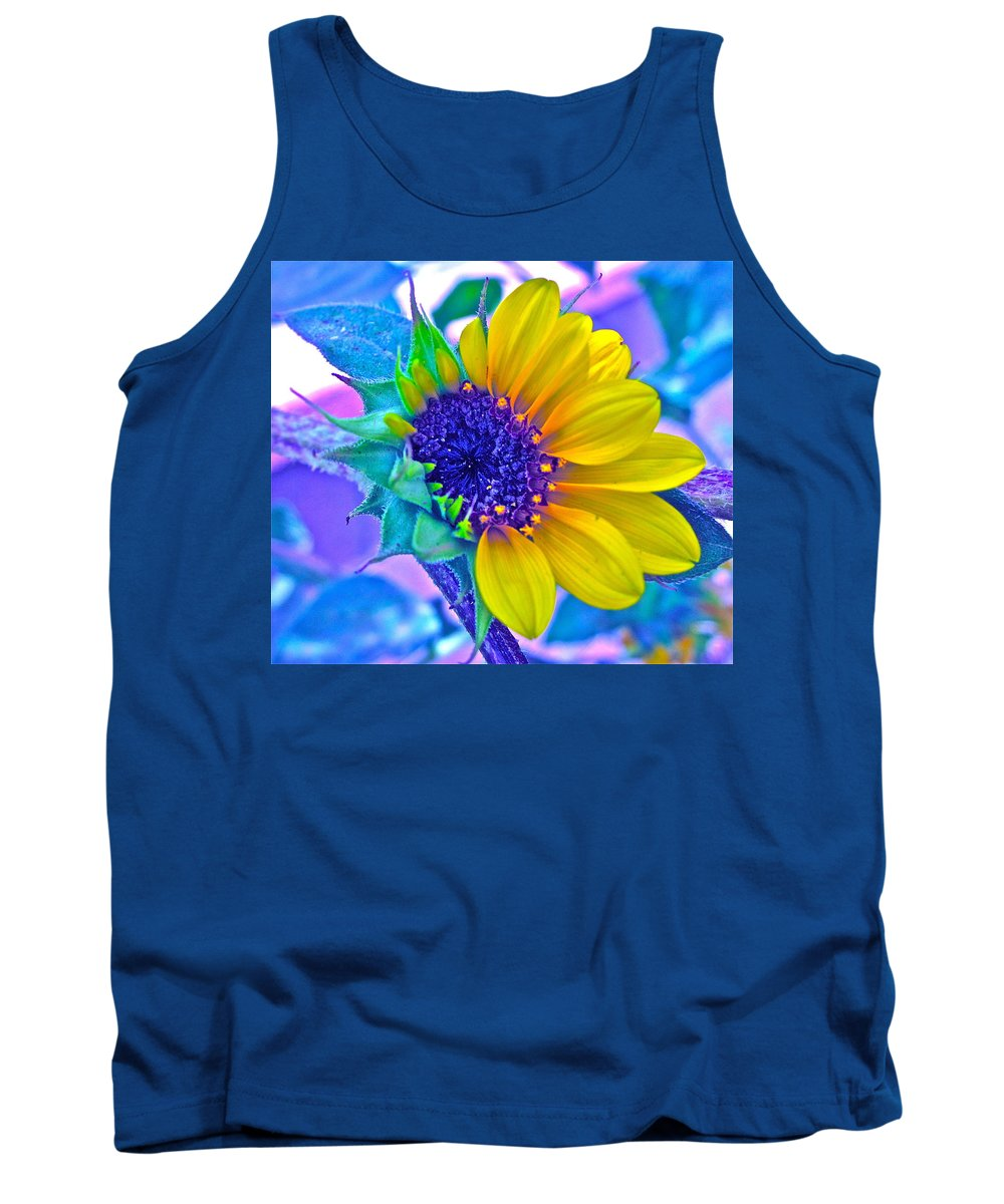 Photographs Tank Top featuring the photograph Content by Gwyn Newcombe