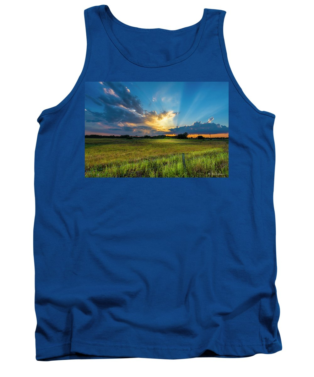 Backroads Tank Top featuring the photograph Country Life by Marvin Spates