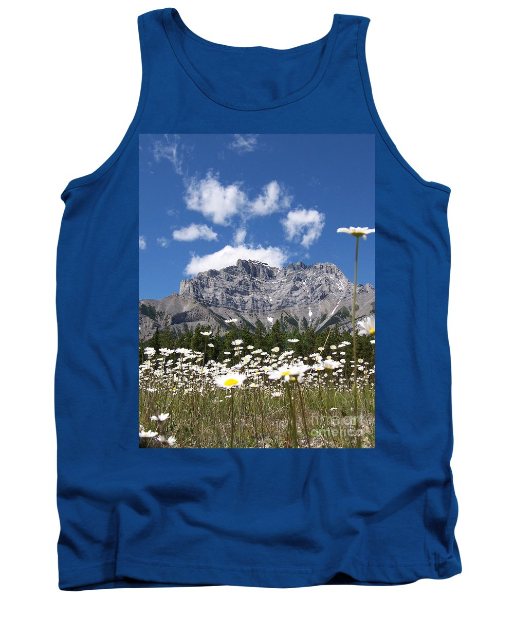 Bright Tank Top featuring the photograph Daisy Field by Greg Hammond