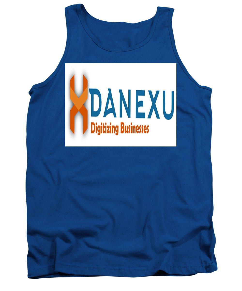 Tank Top featuring the photograph Danexu Technologies Logo by Danexu