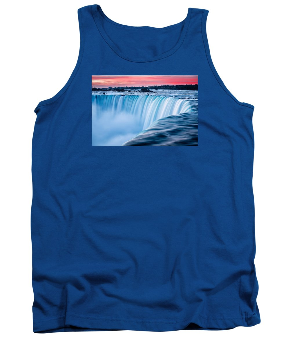 Dawn Tank Top featuring the photograph Dawn Flow by Mark Robert Rogers