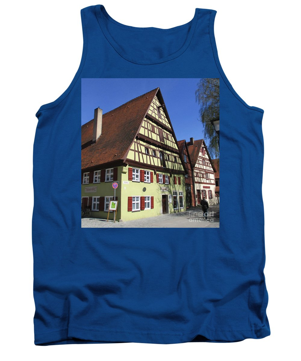 Dinkelsbuhl Tank Top featuring the photograph Dinkelsbuhl 27 by Randall Weidner