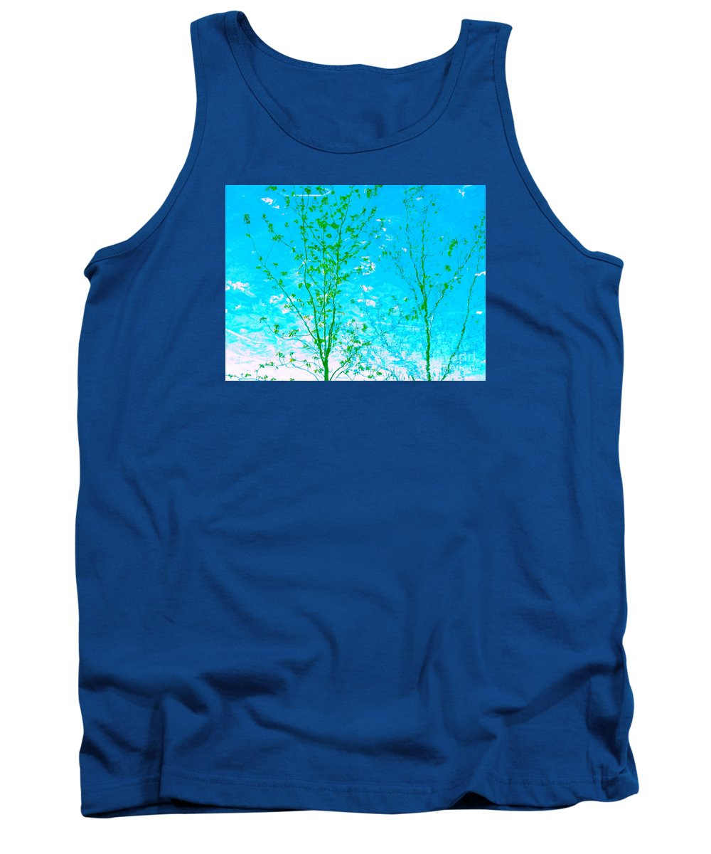 Water Tank Top featuring the photograph Dispel Illusion by Sybil Staples