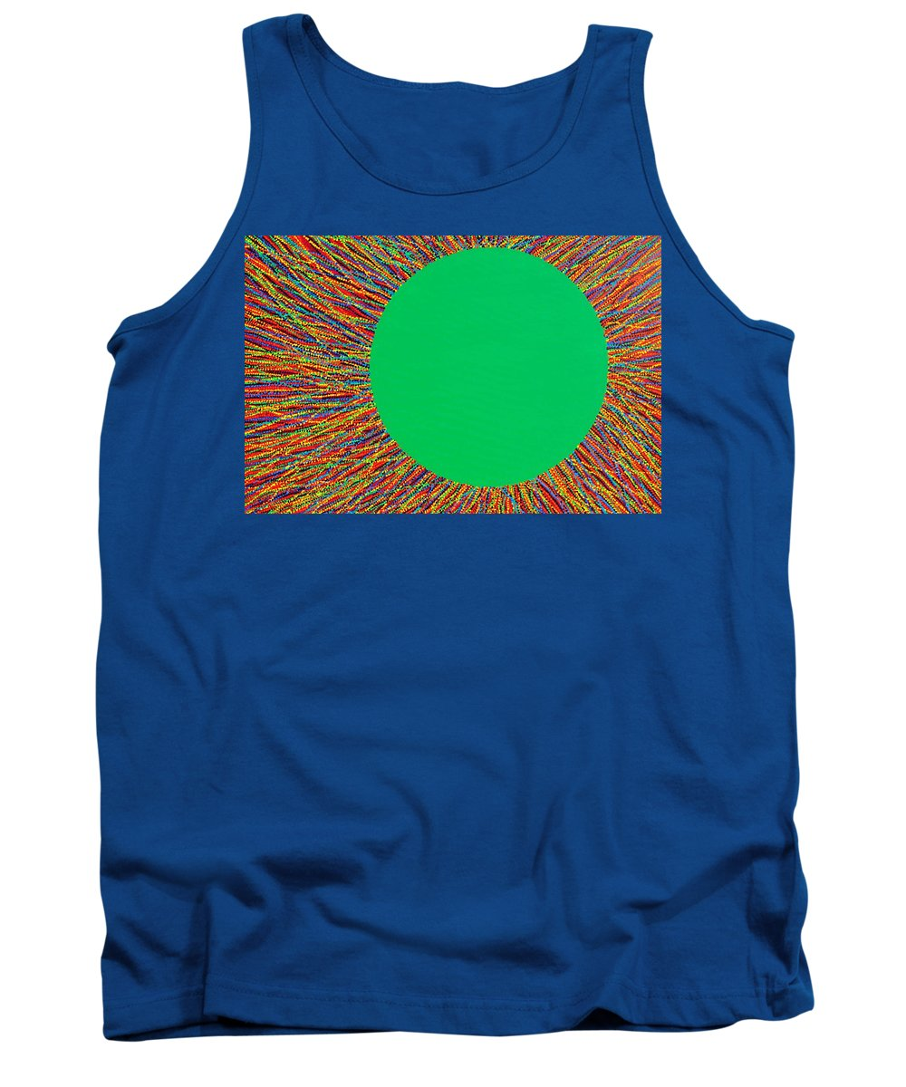 Contemporary Tank Top featuring the painting Empty Cup 1 by Kyung Hee Hogg