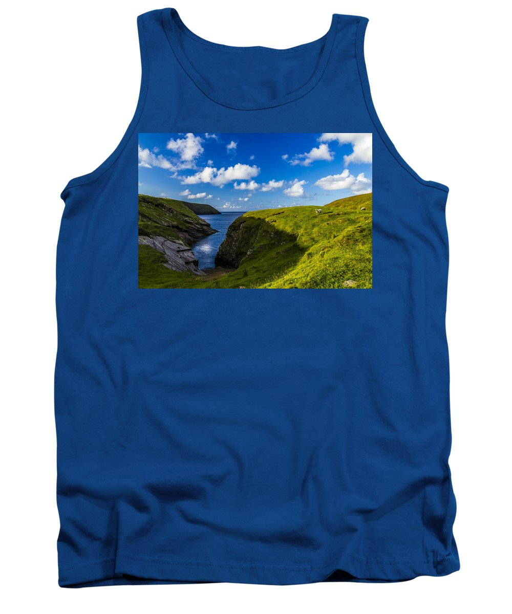Landscape Tank Top featuring the photograph Erris Head, County Mayo, Ireland by Michael Kinsella