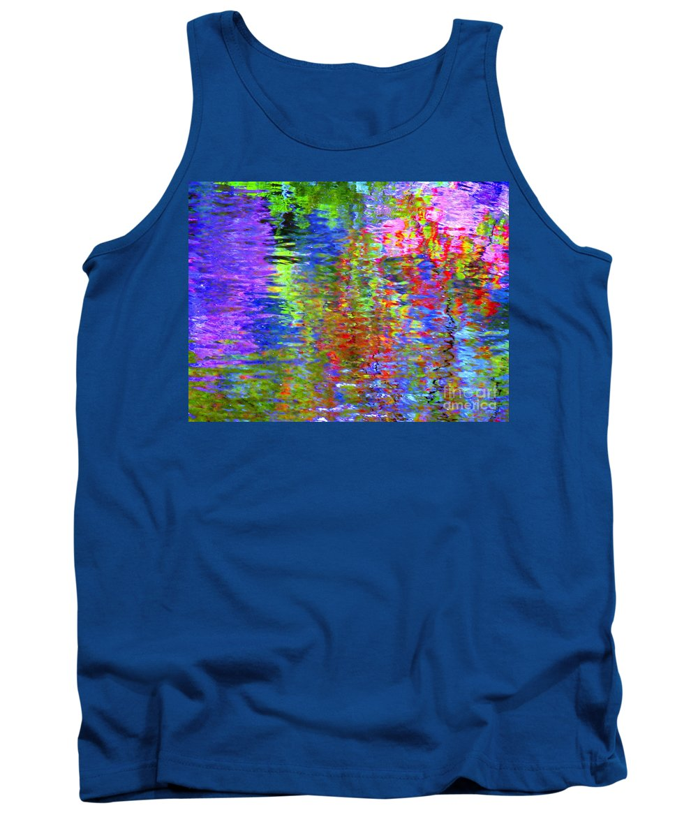 Abstract Tank Top featuring the photograph Every Act Of Love by Sybil Staples