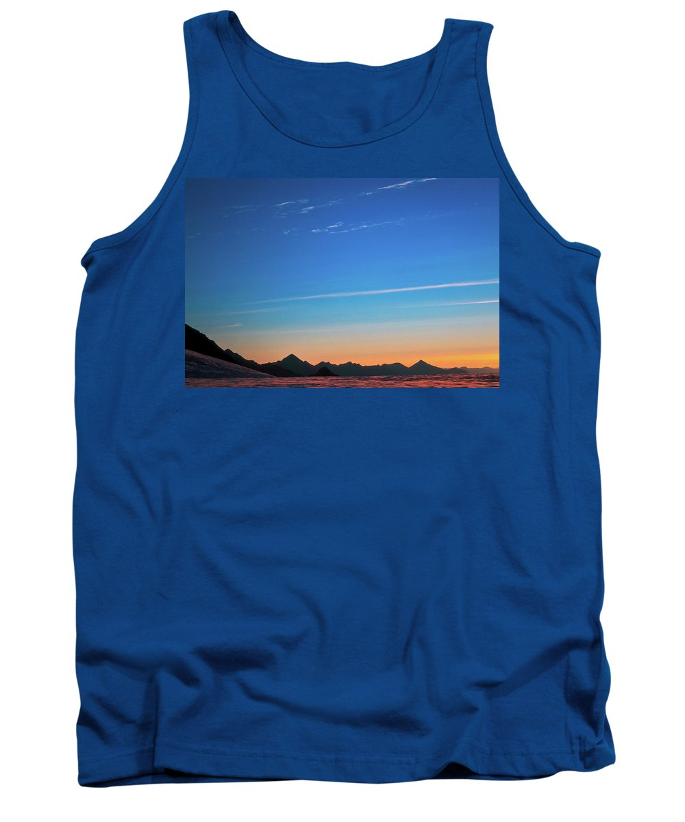 Alone Tank Top featuring the photograph Far Mountains by Konstantin Dikovsky