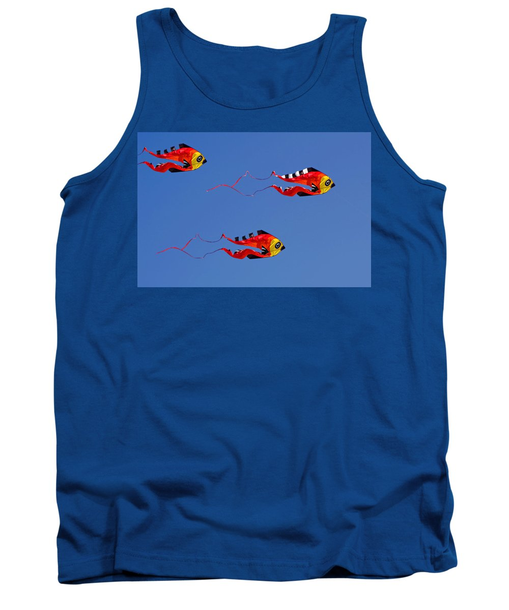Clay Tank Top featuring the photograph Go Fly A Kite by Clayton Bruster