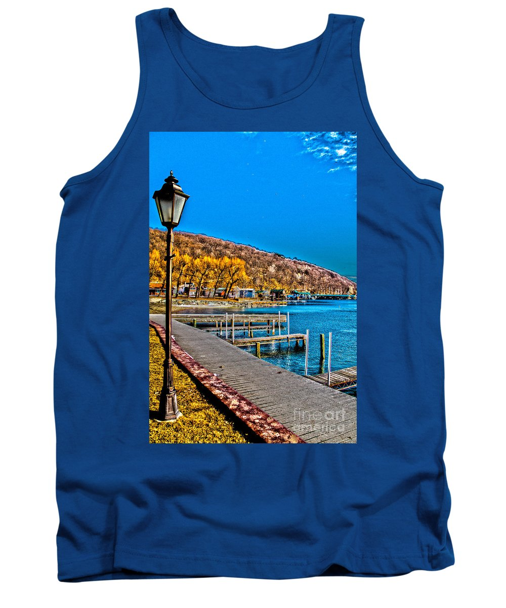 Water Tank Top featuring the photograph Hammondsport Waterfront by William Norton