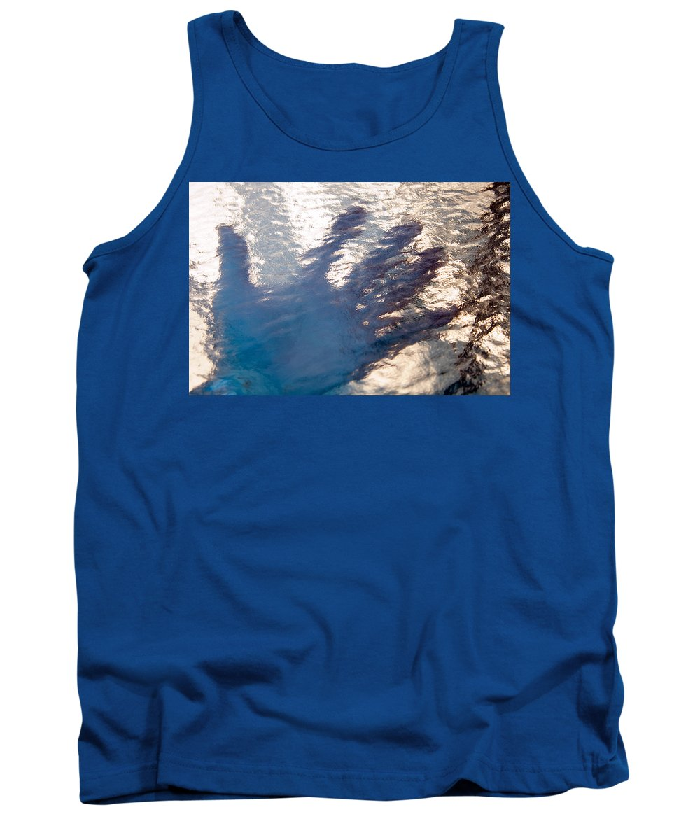 Clay Tank Top featuring the photograph Hand Out by Clayton Bruster