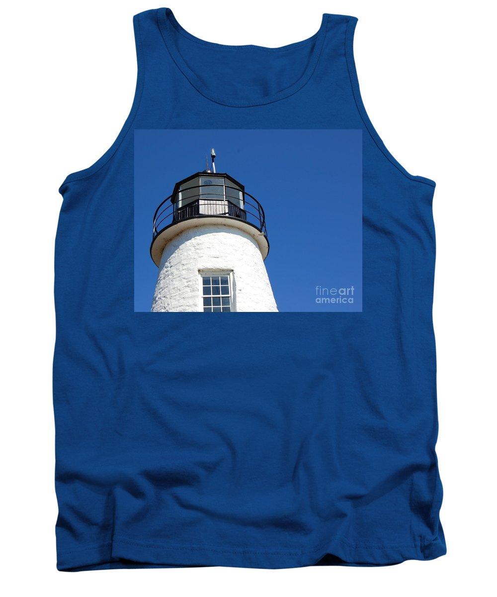 Lighthouse Tank Top featuring the photograph Havre De Grace Lighthouse 2 by Debbi Granruth
