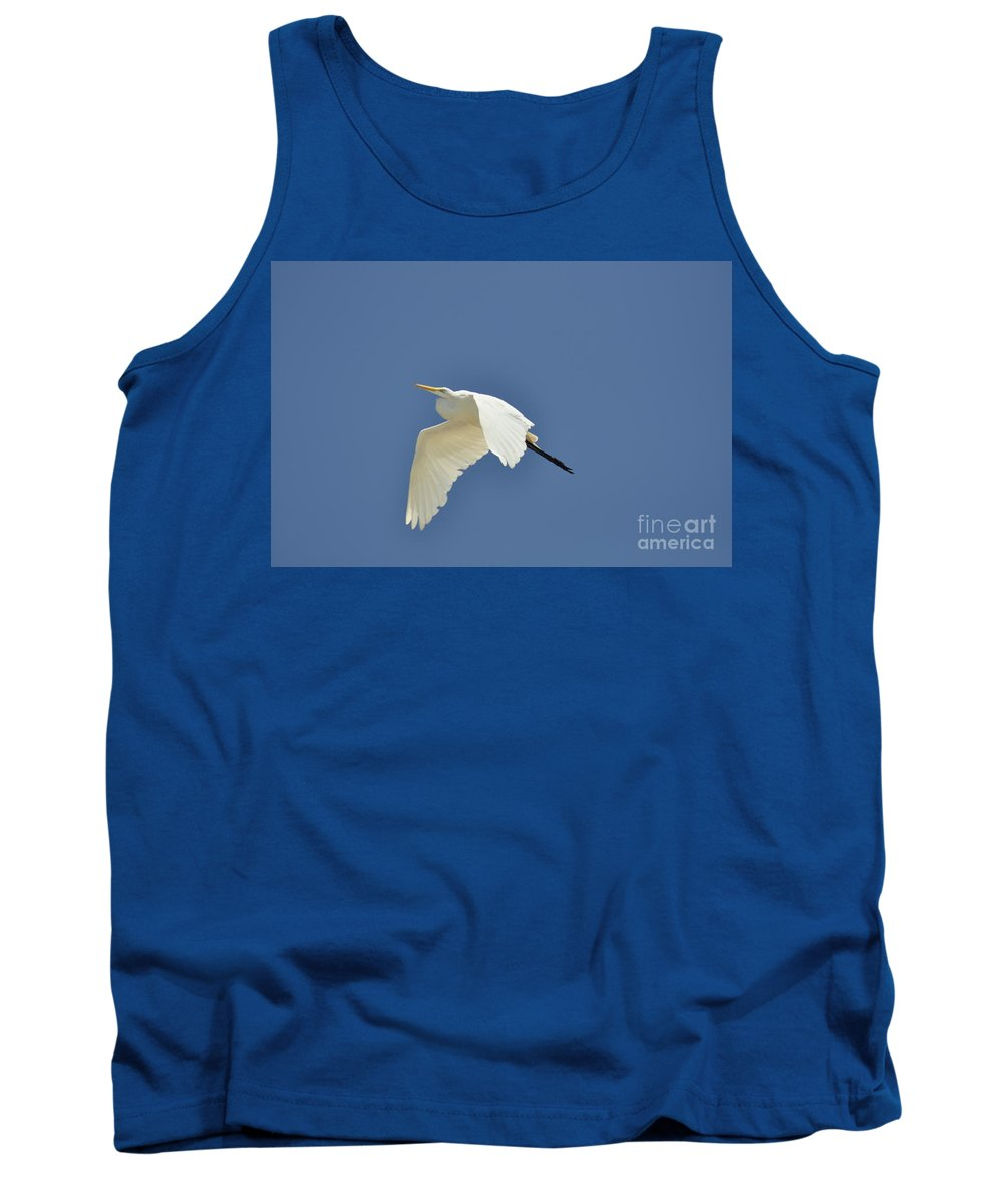 Clay Tank Top featuring the photograph In Flight by Clayton Bruster