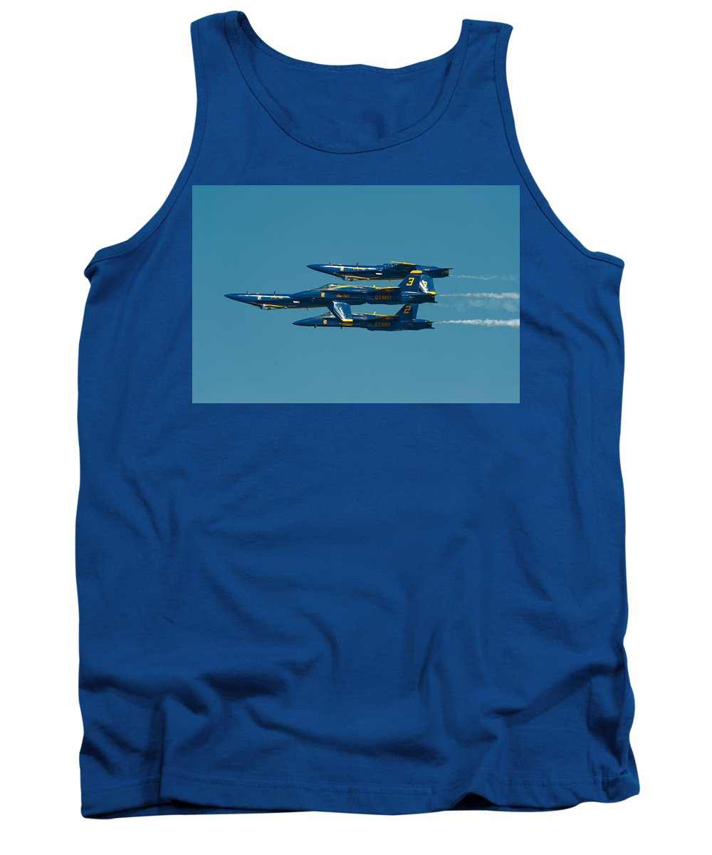 Us Navy Tank Top featuring the photograph Inverted by Sebastian Musial