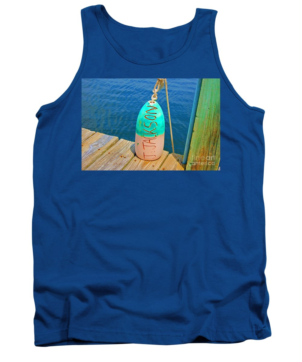 Water Tank Top featuring the photograph Its A Buoy by Debbi Granruth