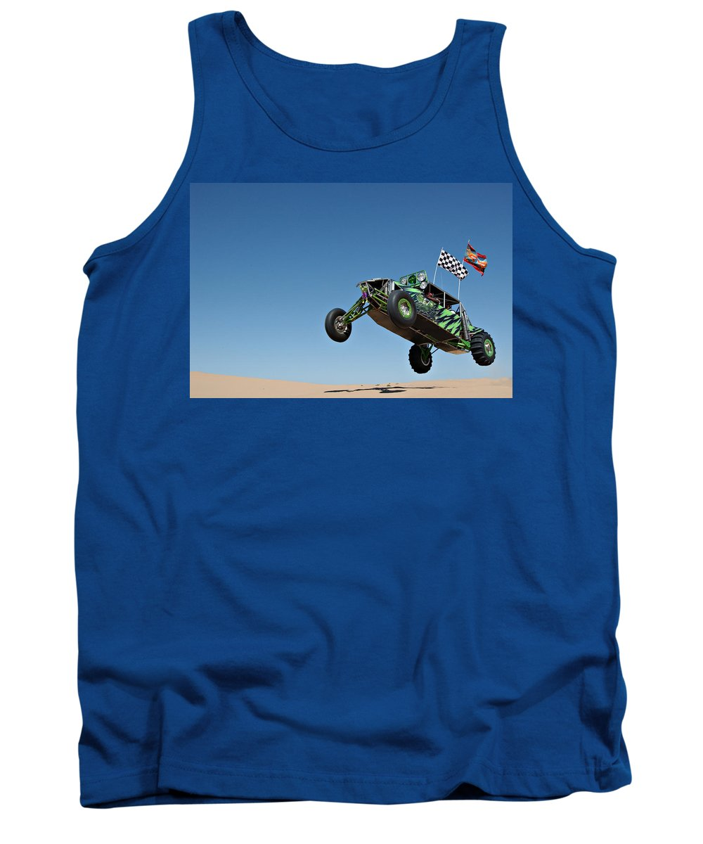 Dune Buggy Tank Top featuring the photograph Jumping Hulk by Scott Sawyer