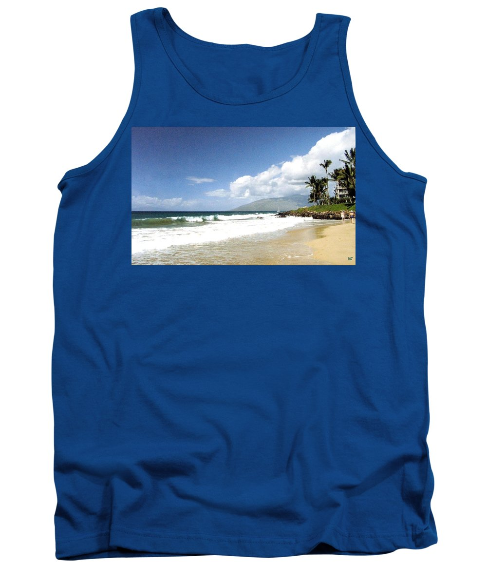 1986 Tank Top featuring the photograph Kihei by Will Borden