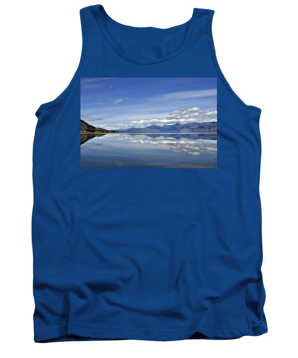Summer Tank Top featuring the photograph Kluane Summer by Cathy Mahnke