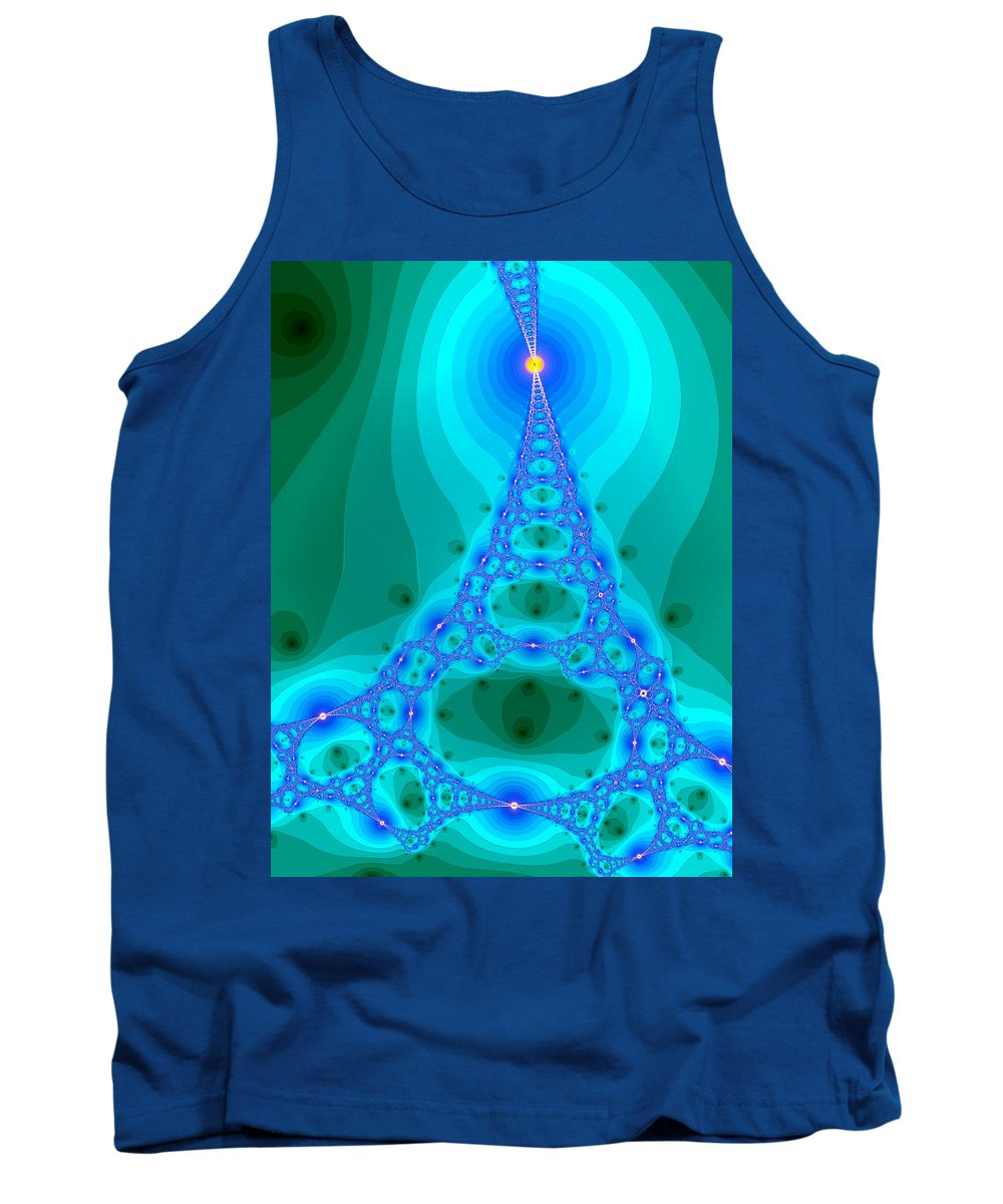 Art Tank Top featuring the digital art Ladder To Haven by Mark Sellers