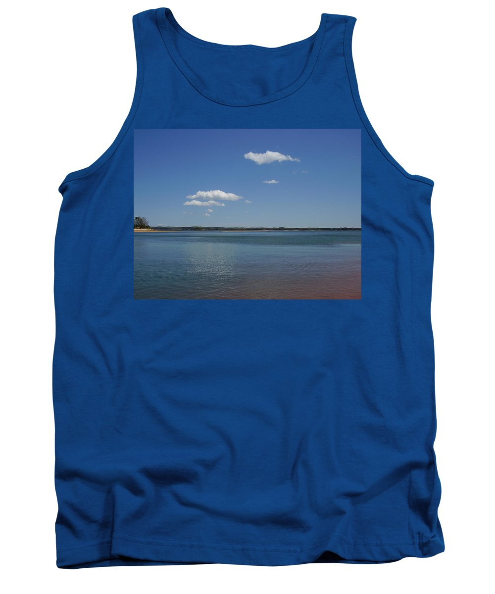 Lake Hartwell Tank Top featuring the photograph Lake Hartwell by Flavia Westerwelle