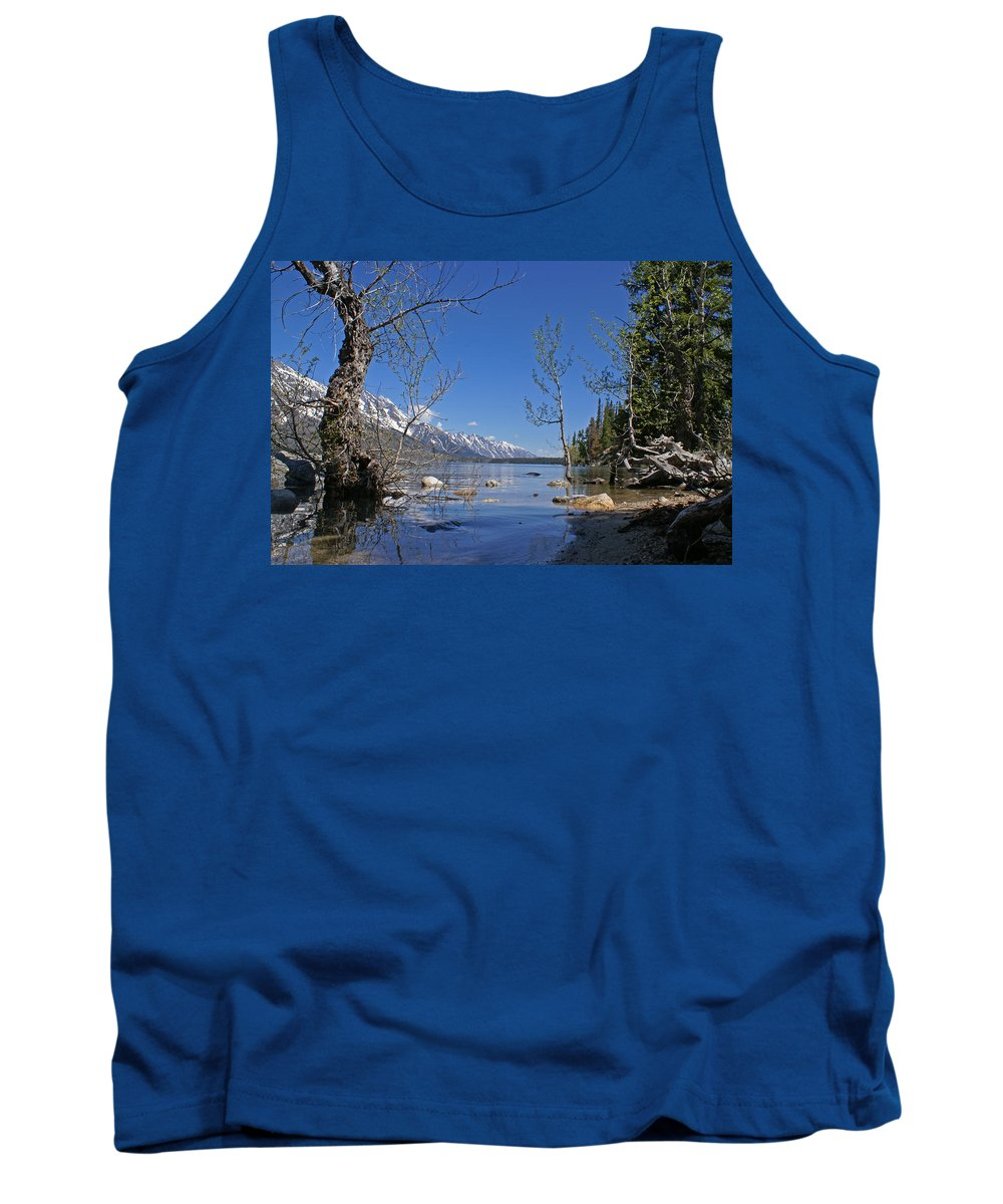 Lake Jenny Tank Top featuring the photograph Lake Jenny by Heather Coen