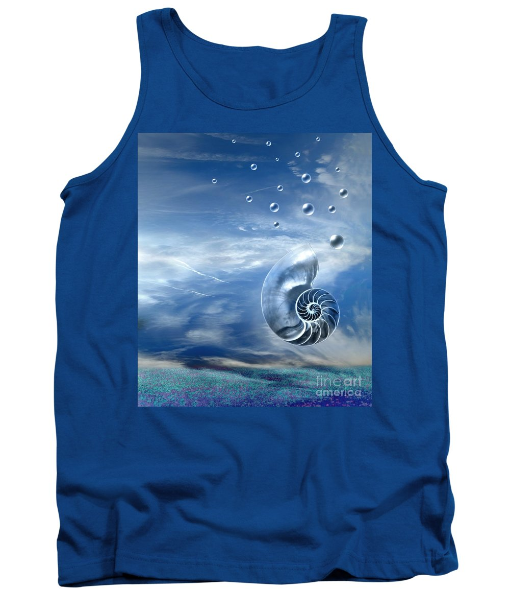 Surreal Tank Top featuring the photograph Life by Jacky Gerritsen