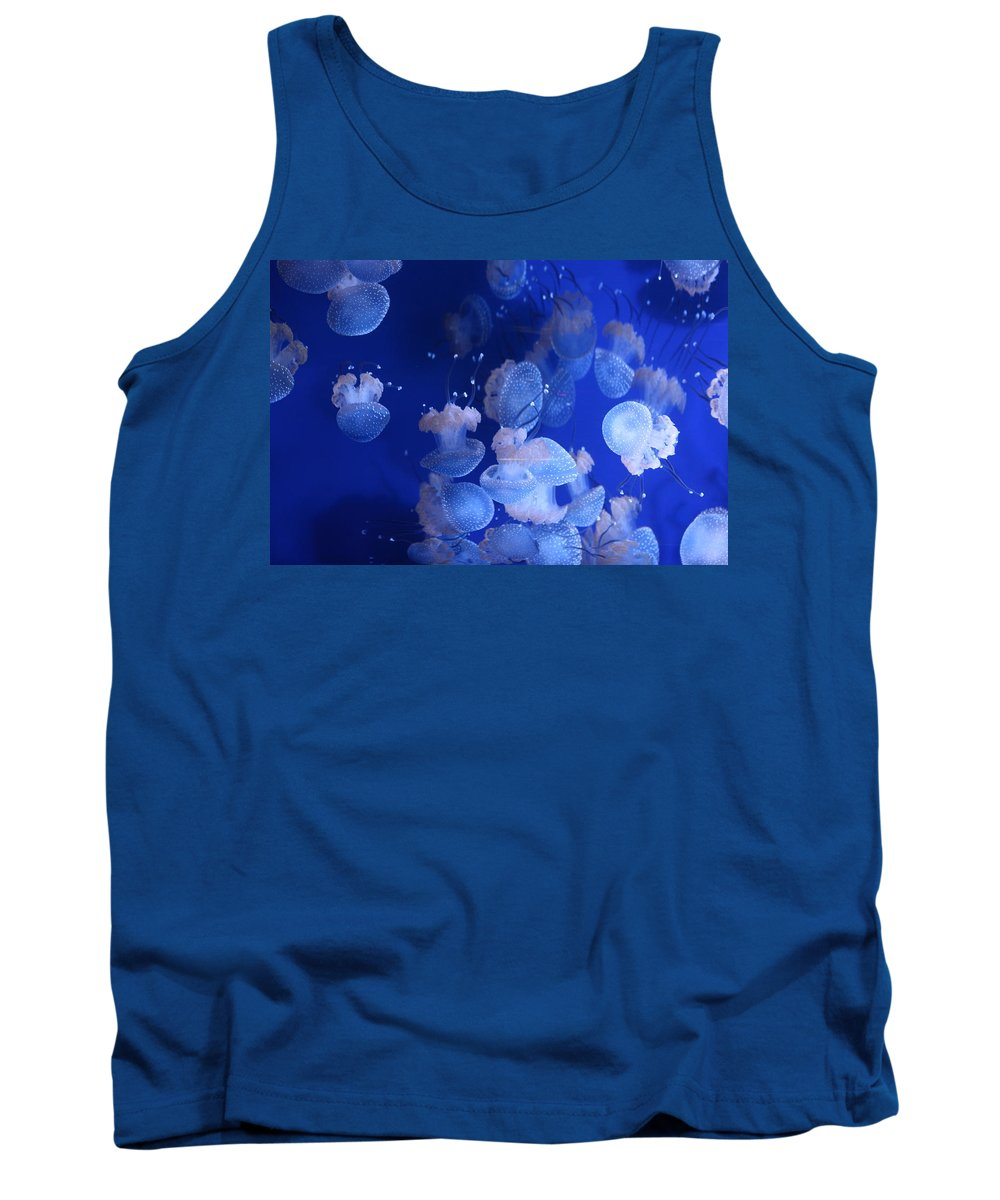 Tank Top featuring the photograph Life Wonders Of The Sea by Rosa Ashour