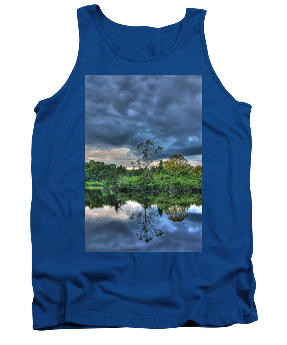 Lord Stirling Park Tank Top featuring the photograph Lord Stirling Park by Jeff Bord