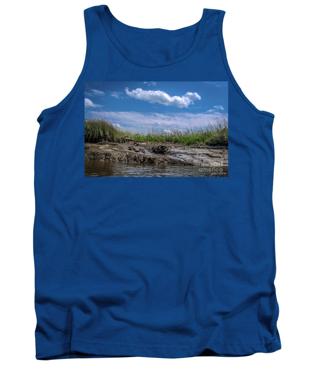 River Tank Top featuring the photograph Low Tide IIi by Yvette Wilson