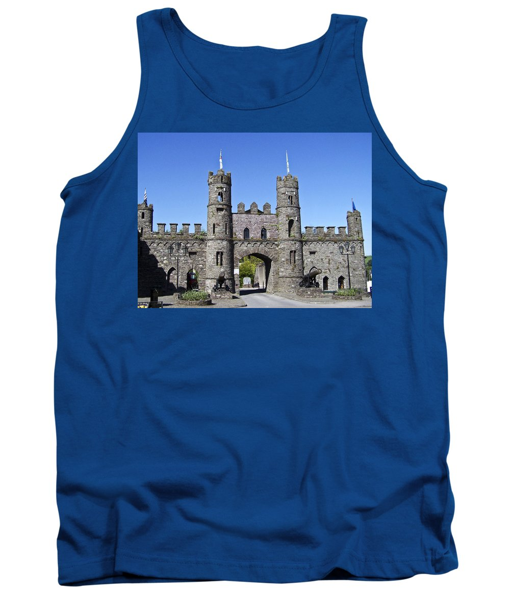 Irish Tank Top featuring the photograph Macroom Castle Ireland by Teresa Mucha